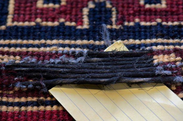 Heroin Inside the Carpets