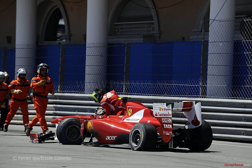 Behind the scenes of Formula 1, Monaco 2011 - Race