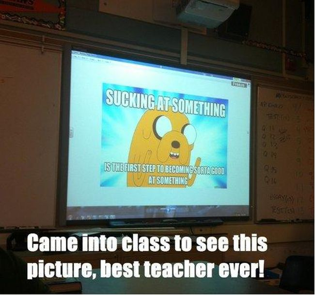 Awesome Teachers, part 4