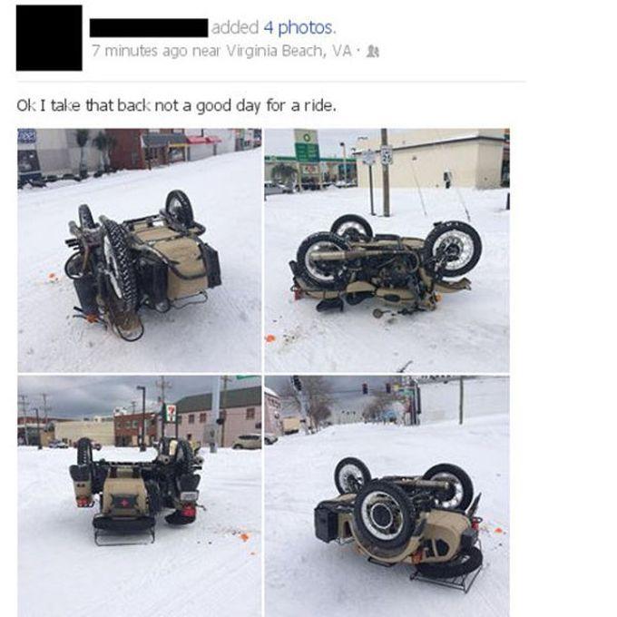 Riding Fail