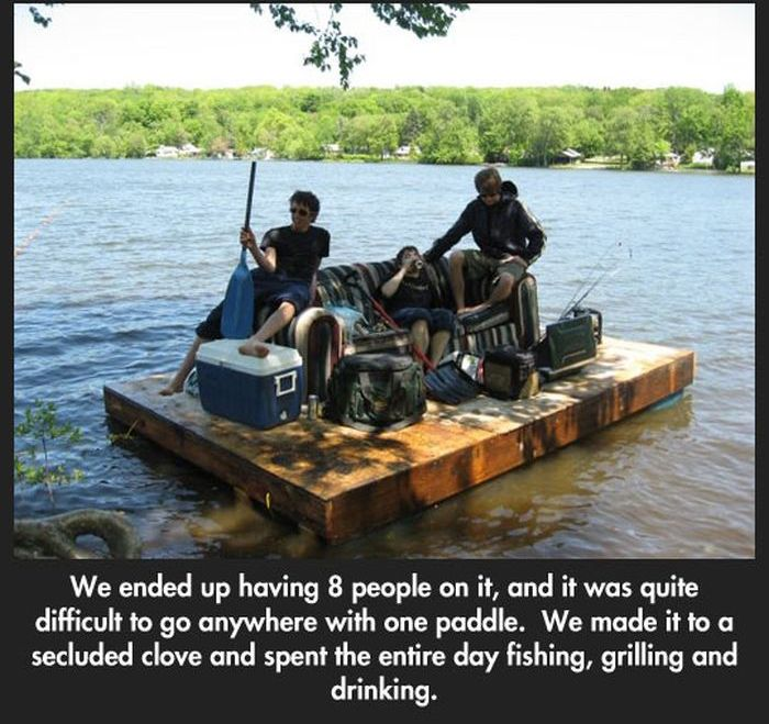 The Great Raft