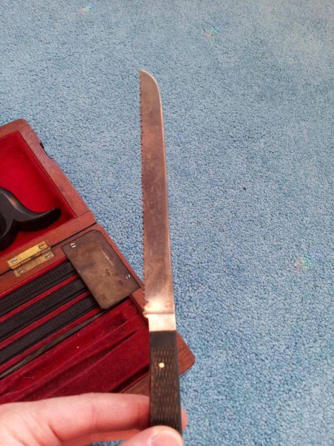 19th Century Surgical Kit of War Surgeon
