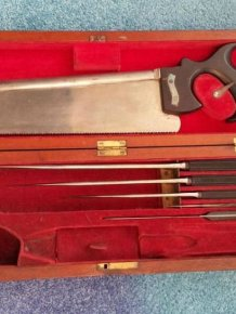 19th Century Surgical Kit of War Surgeon