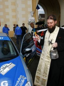 Romanian Priests Bless Just About Everything
