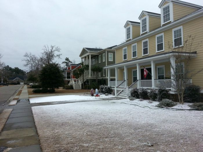 A Little Girl Desperately Wanted Snow in South Carolina