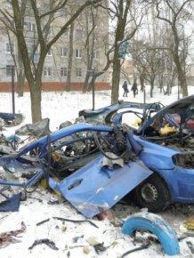 Methane Gas Cylinder Exploded Inside a Car