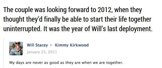 Sad Love Story Told through Facebook Updates