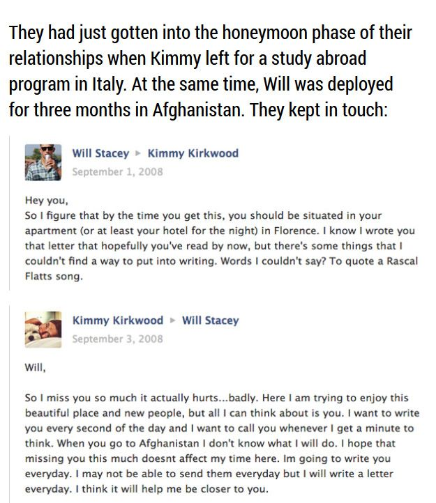 Sad Love Story Told through Facebook Updates