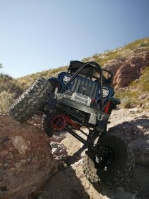 Impressive off-road jeeps