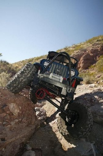 Impressive off-road jeeps
