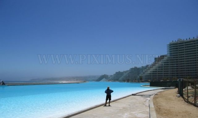 The world's biggest pool