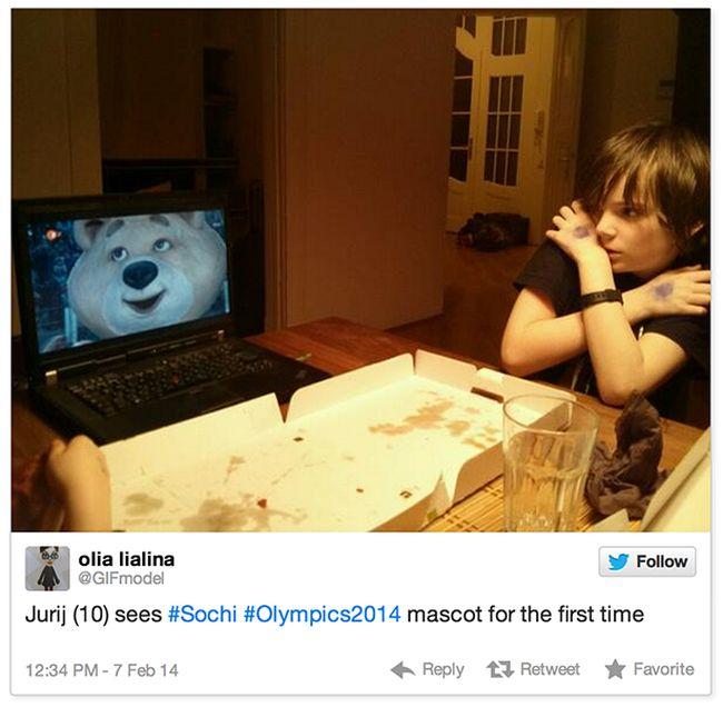 2014 Sochi Winter Olympics in Internet