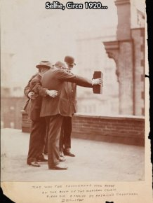 Selfie from 1920