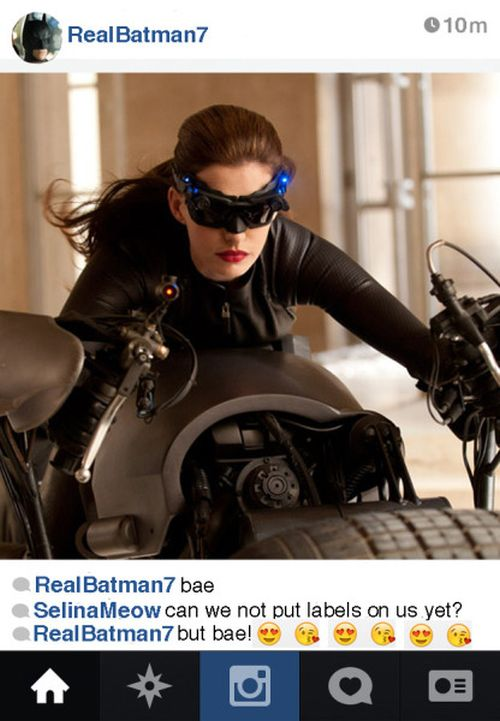 If Batman Had An Instagram Account