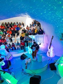 Performance Hall in Ice