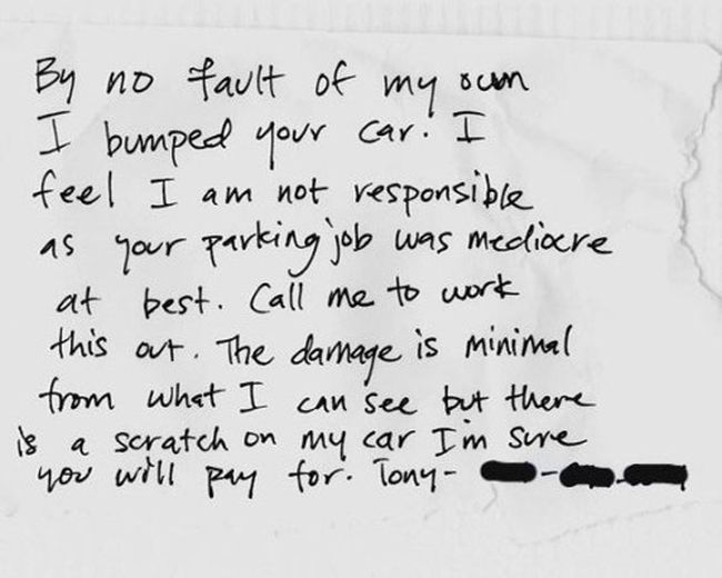 Furious Windshield Notes