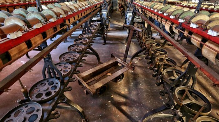 Inside an Abandoned Silk Mill