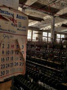 Inside an Abandoned Silk Mill