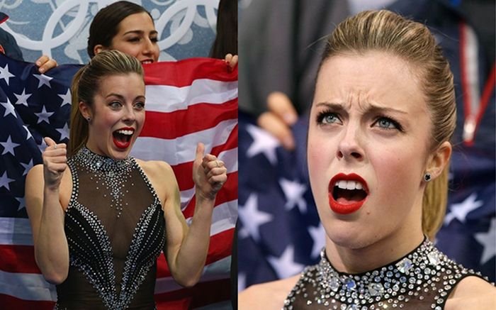 Ashley Wagner Olympic Meme