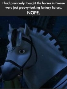 The Horses in Frozen are Real