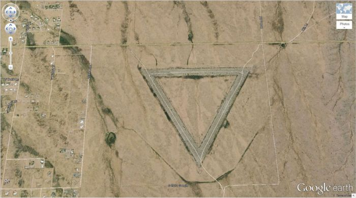 Amazing Finds on Google Earth