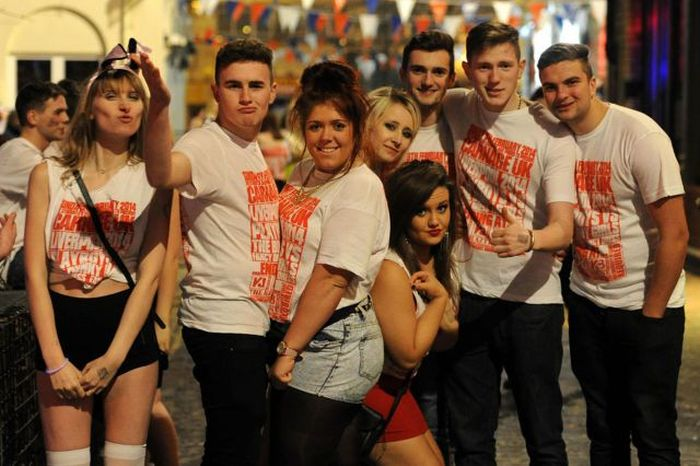 Drunk Students in Liverpool