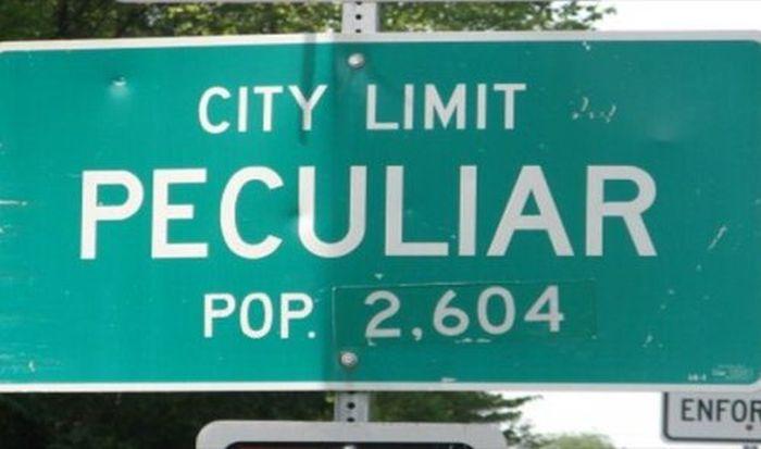 Strange City Names