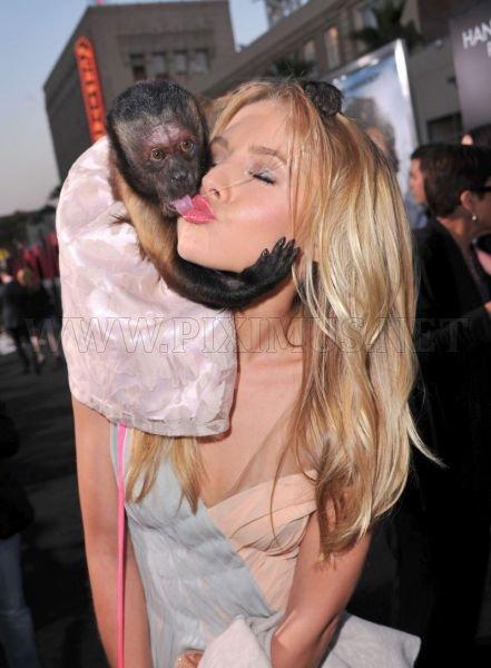 Monkey Kisses Kristen Bell