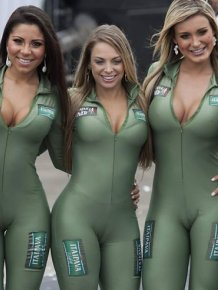 The Beautiful Brazilian Auto Show Girls
