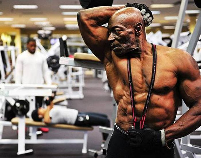 70-Year-Old Bodybuilder