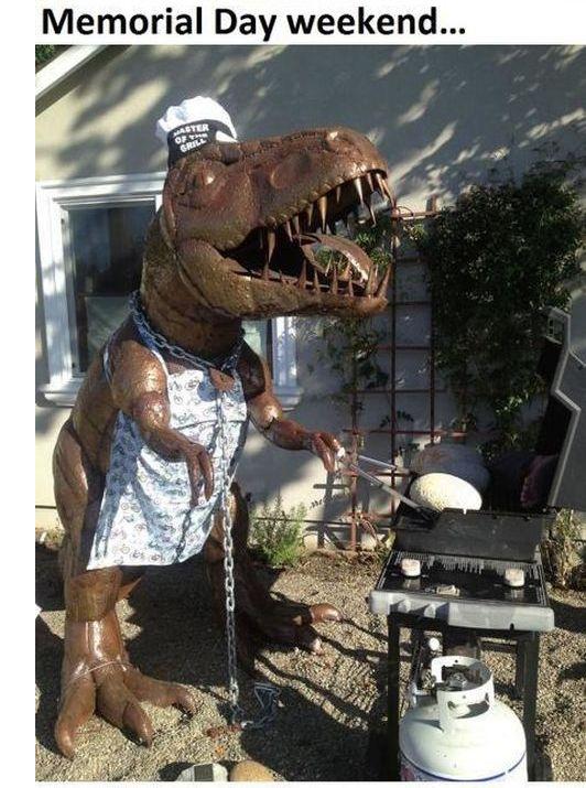 Lawn Dinosaur