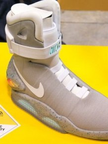 """Back To The Future"" Power Laces"