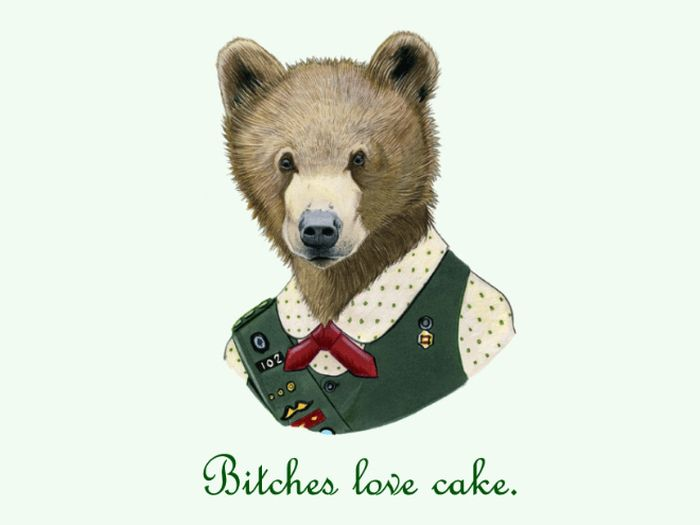 Well Dressed Animals With Rap Quotes