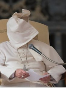 Pope Francis Doesn't Like Wind