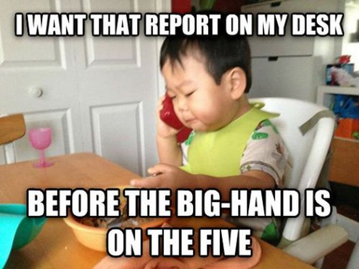 The Business Baby Meme