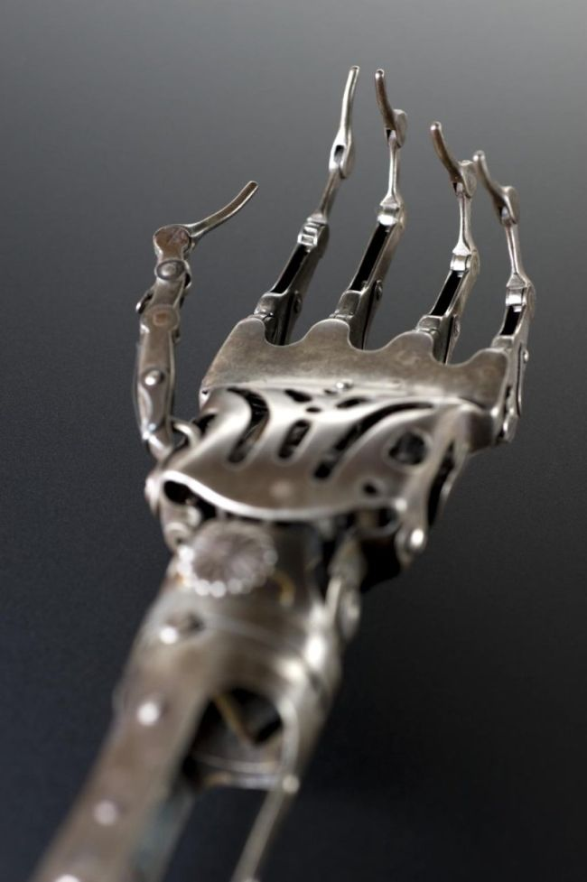 Artificial Arm from the Past