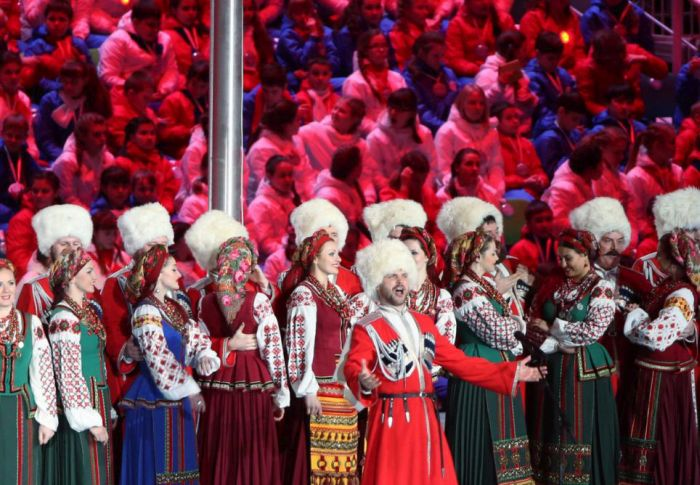 Closing Ceremony of Sochi Winter Olympics