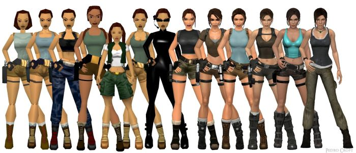 Video Game Characters Then And Now
