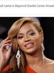 Interesting Facts about Beyoncé