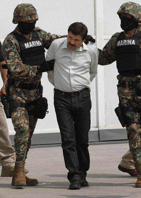 Joaquin 'El Chapo' Guzman Busted
