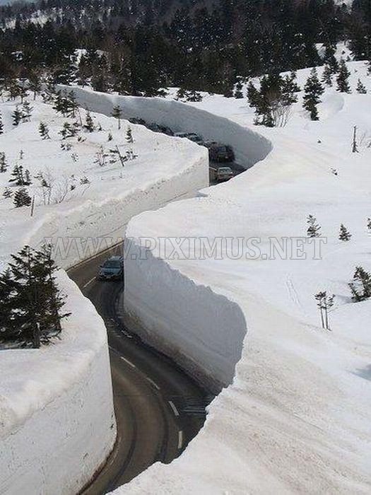 Heavy winter - good roads