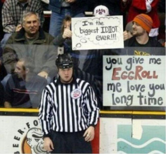 Awesome Sporting Event Signs
