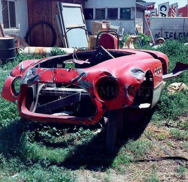 Super cars wrecks