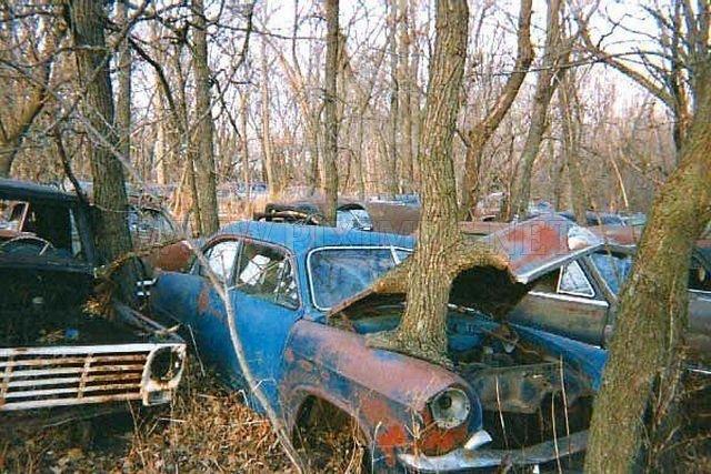 Super cars wrecks