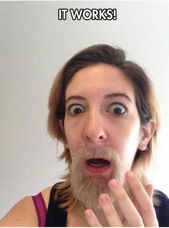 Growing a Man Beard