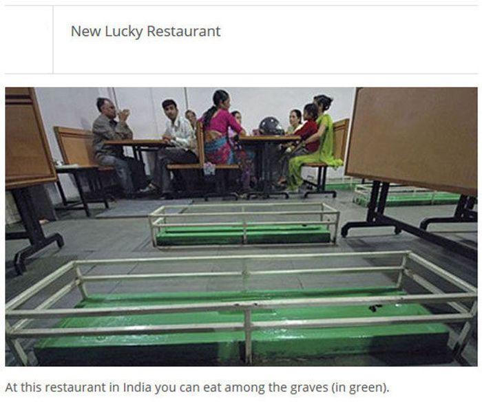 The Most Unique Restaurants