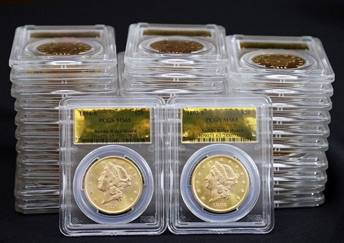 California Couple Finds $10M in Gold Coins