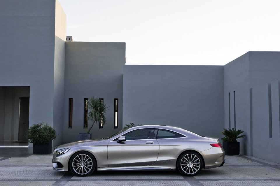 The New Mercedes-Benz S-Class Coupé