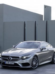 The New Mercedes-Benz S-Class Coupé