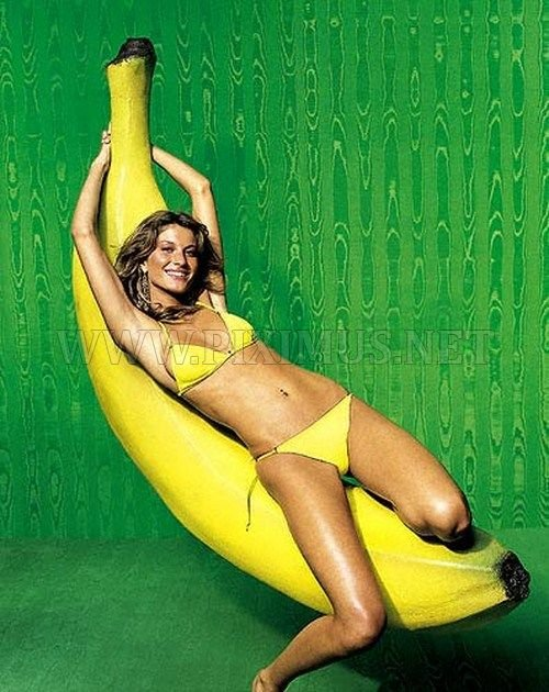 Girls and bananas